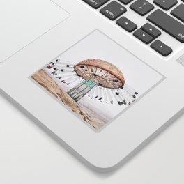 Mushroom Carousel Sticker