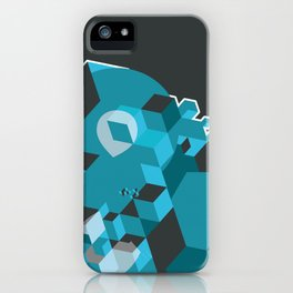 Ampersand Lost in Cubes iPhone Case