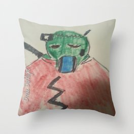 New Zombie stuff  Cyber Zombie Throw Pillow
