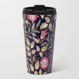 William Morris Sweet Briar Floral Art Nouveau Travel Mug