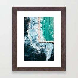 Sydney Bondi Beach Iceberg Ocean Pool 1 Framed Art Print