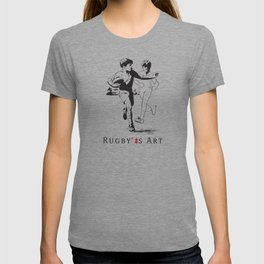 Rugby Junior Hand-Off by PPereyra T-shirt