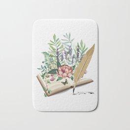 Book Bath Mat