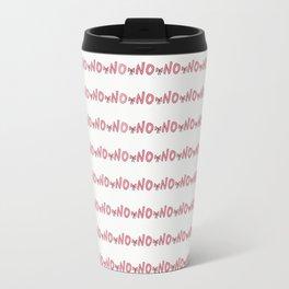 no pattern Travel Mug
