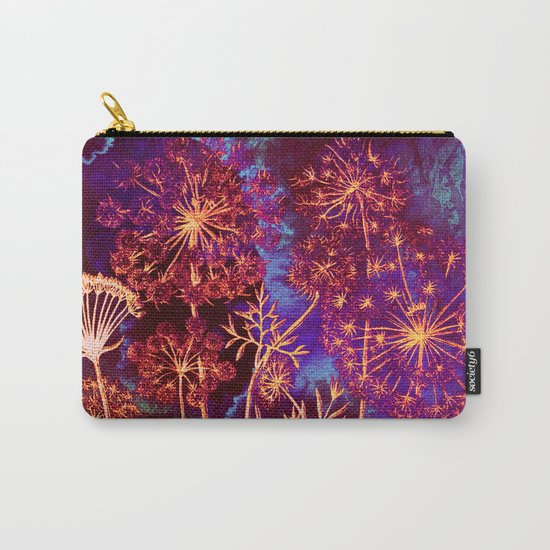 dandelions in the storm Carry-All Pouch