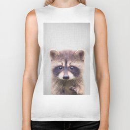 Raccoon - Colorful Biker Tank