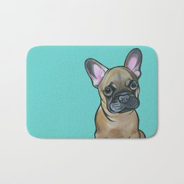 Armand the Frenchie Pup Bath Mat