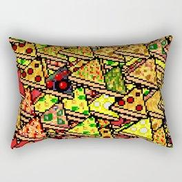 Pixel Pizza Array Rectangular Pillow
