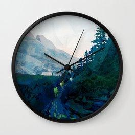 Heritage Art Series - Jade Wall Clock