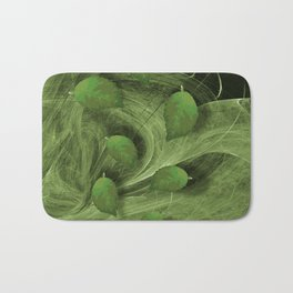 Leaves blowing in the wind Bath Mat