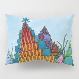 Rainbow Towers Pillow Sham