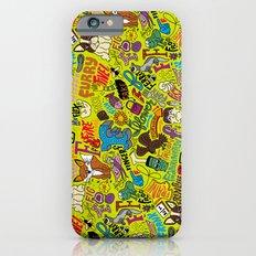 F Pattern iPhone 6s Slim Case