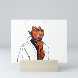 Honor the space you are in Mini Art Print