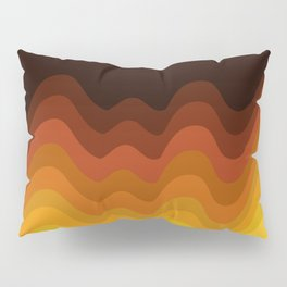 70s Ripple Pillow Sham