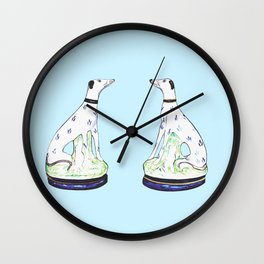 STAFFORDSHIRE HOUNDS Wall Clock