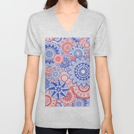 Celebration Mandala Unisex V-Neck