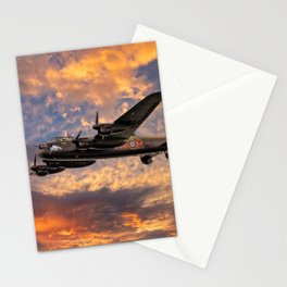 Avro Lancaster Bomber Stationery Cards
