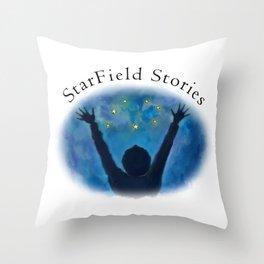 StarField Stories Throw Pillow