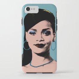 Rihanna Pop Art iPhone Case