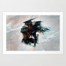 Orbital Frame Art Print