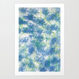 Ink Art Art Print