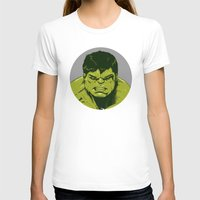 hulk T-shirts featuring Hulk by Hazel