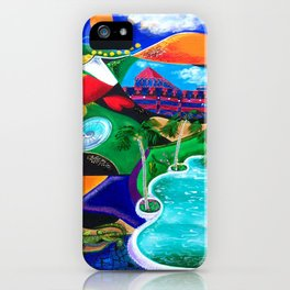 Night in Ponce, Puerto Rico iPhone Case