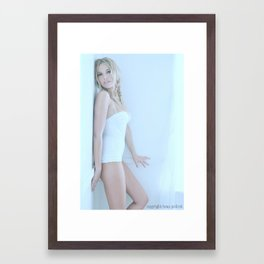 roma perrier Framed Art Print