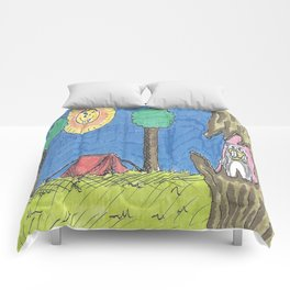 Sinister Camping Comforters