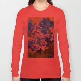 Blue Hydrangeas Long Sleeve T-shirt