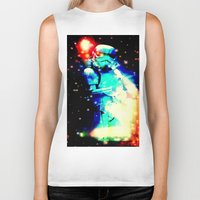 storm trooper Biker Tanks featuring STORM TROOPER by shannon's art space