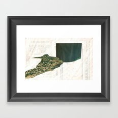 Isle Framed Art Print