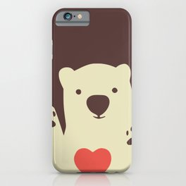 Hearty bear paws iPhone Case