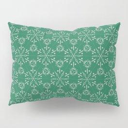 Hexagonal Circles - Emerald Pillow Sham