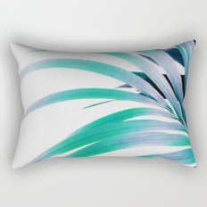 Colored Palm Leaf Rectangular Pillow
