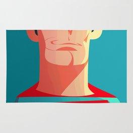 The real Superman Rug