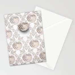 In which the moon frees itself  Stationery Cards