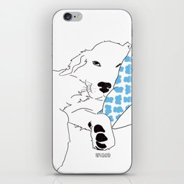 Sleep - Golden Retriever iPhone Skin