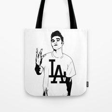 Panic on the streets of LA Tote Bag
