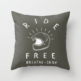 breathe easy Throw Pillow