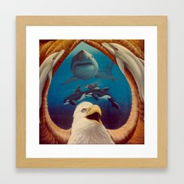 Majestic Species Framed Art Print