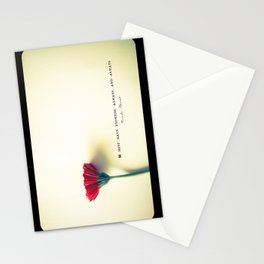 I must have flowers, always, and always - Claude Monet  Stationery Cards