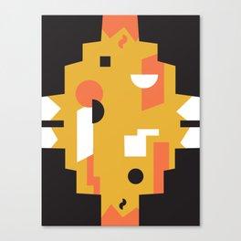Techno Thunder Canvas Print