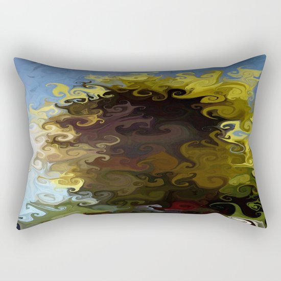One Moment, One Day Rectangular Pillow