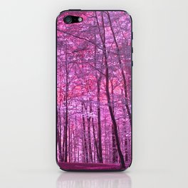 purple forest V iPhone Skin