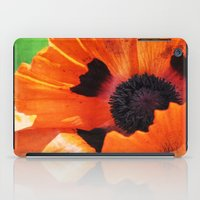 poppy iPad Cases featuring POPPY by Teresa Chipperfield Studios