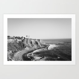 Palos Verdes Peninsula Art Print
