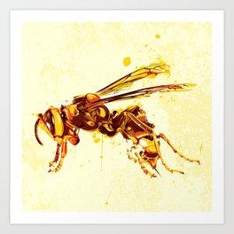 Hornet Art Print