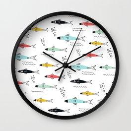 Plenty more Fish in the Sea Wall Clock