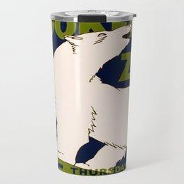 Vintage poster - Visit the Brookfield Zoo Travel Mug